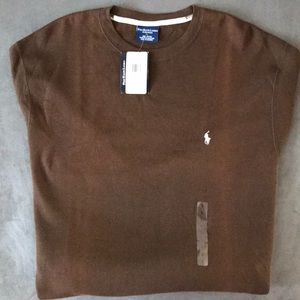 🐎 Polo by Ralph Lauren Men's Brown Thermal - L